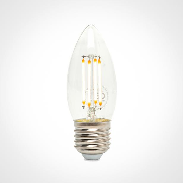 Orbus C37 4W Filament Bulb Clear E27 400Lm Ra80 220- 240V/50Hz 2700 K Sarı Işık Ampul