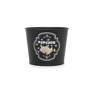 Evstyle Metal Popcorn Kovası - Siyah