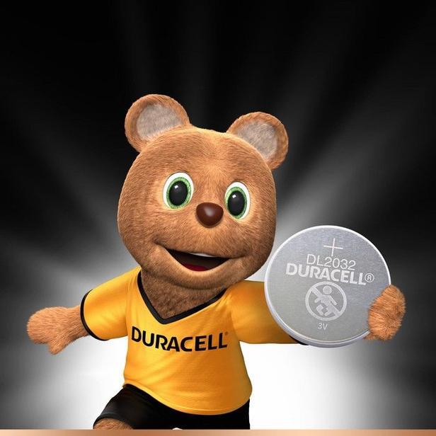 Duracell 4'lü Düğme Pil - 3 Volt