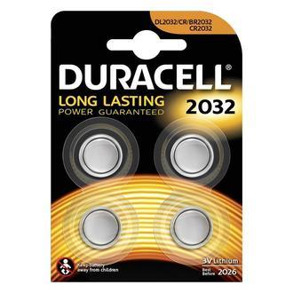 Duracell Düğme Pil 2032 4'lü 3 Volt