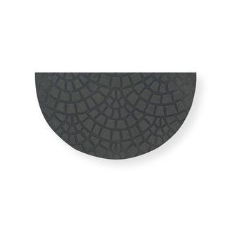Giz Home Parga Yarımay Kapı Paspası (Mavi) - 40x75 cm
