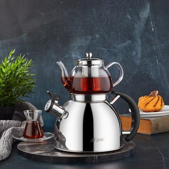 Aryıldız Kettle Mania Düdüklü Çaydanlık - Inox