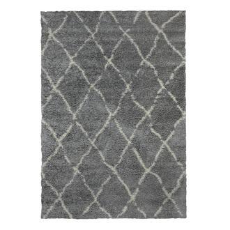 Payidar G0276 Shaggy Halı (Gri/Krem) - 80x150 cm