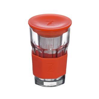 Paşabahçe 52709 Zest Glass Süzgeçli Bardak - Turuncu - 415 Ml
