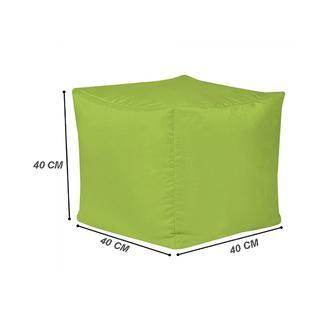 Armutpark Küp Puf Minder - (Yeşil)