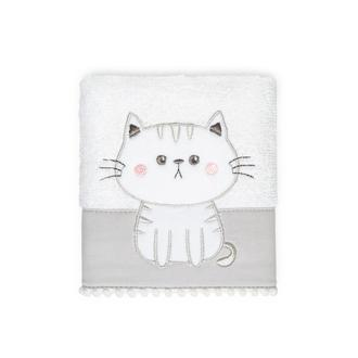 Nuvomon Kitty Çocuk Havlusu - 30x50 cm