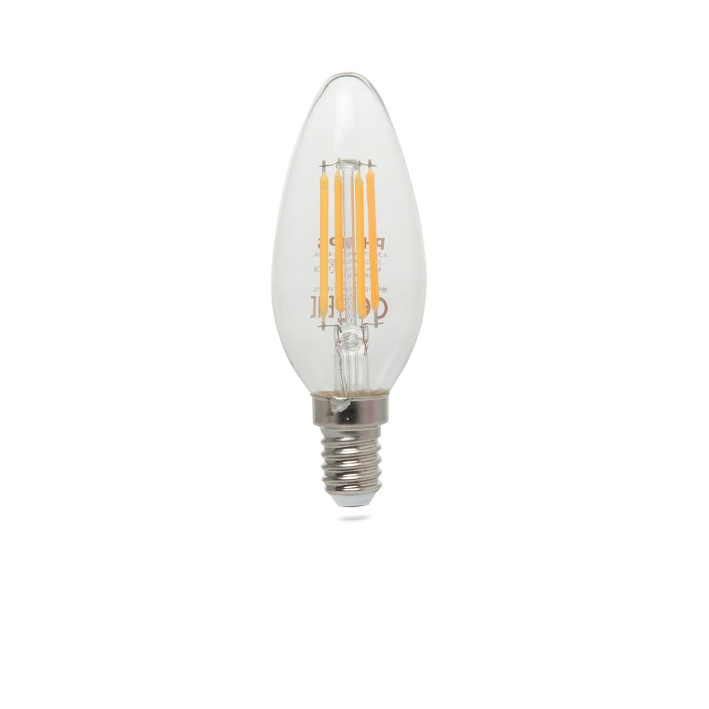 Philips B35 Led Classic 40W E14 Non-Dim 2700K Sarı Işık Ampul