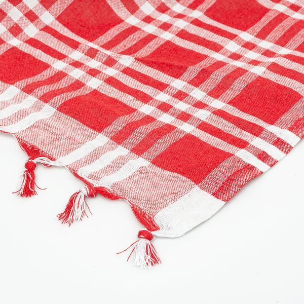 Nuvomon Sofra Bezi Kırmızı - 170x170 cm
