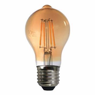 Heka A60 Bal Camlı 6W E27 2500K Gün Işığı Led Ampul