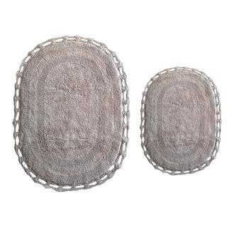 Giz Home Lace 2'li Klozet Takımı - Taş