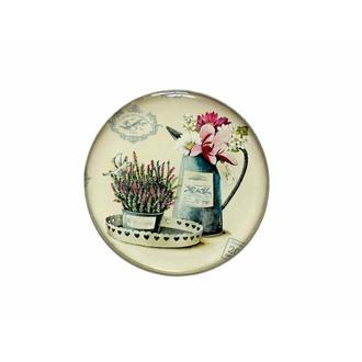 Myros Çiçek Magnet - Renkli - 6,7 cm