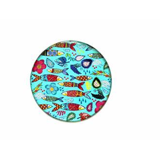 Myros Balık Magnet - Renkli - 6,7 cm