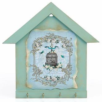 Orta Sofa Mavi Ev Anahtarlık