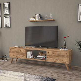 Just Home Terra 160 Cm Tv Ünitesi - Atlantik Çam