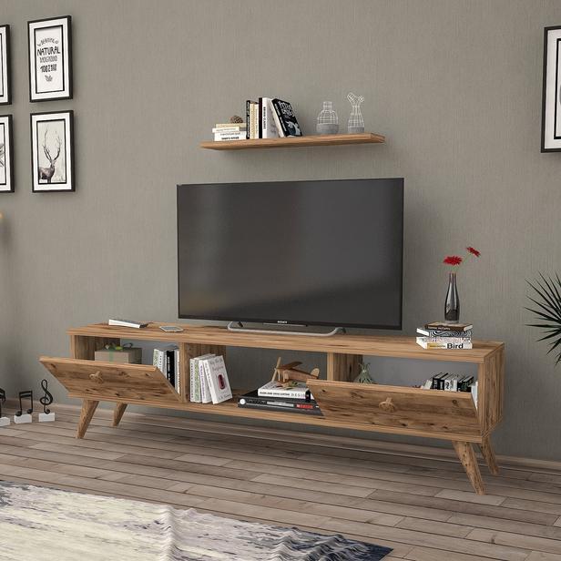 Just Home Terra 160 Cm Tv Ünitesi - Atlantik Çam