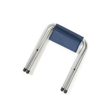 Byeren Katlanır Metal Tabure - Mavi