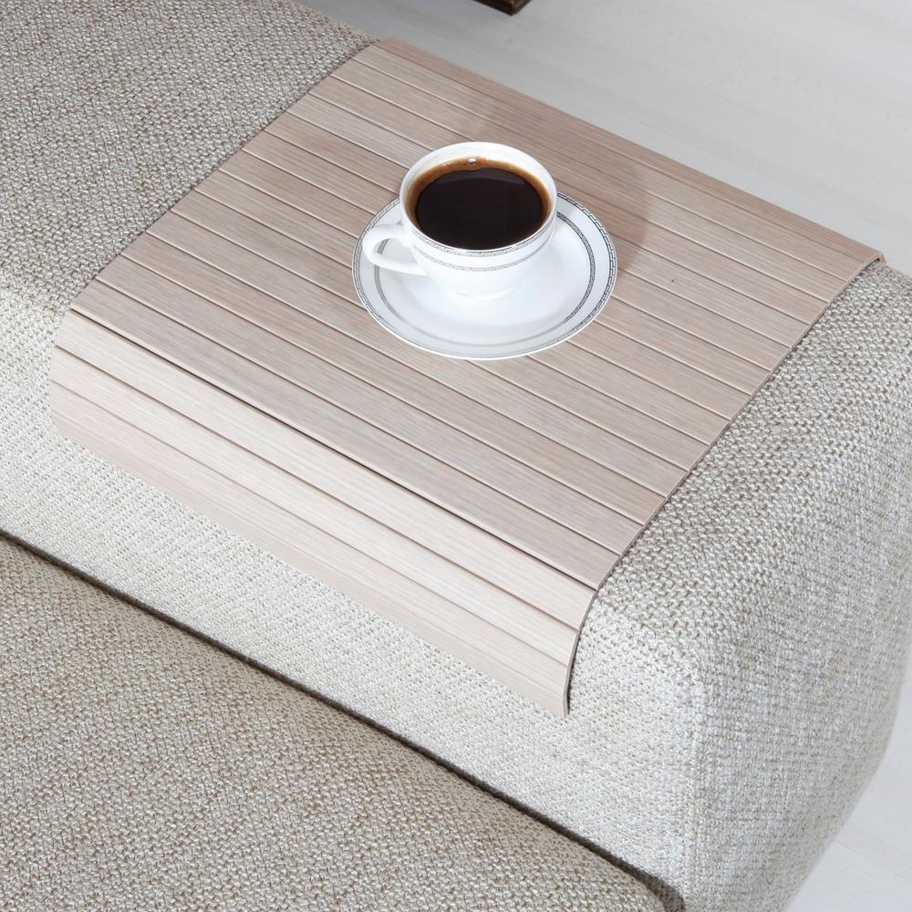 Esser Koltuk Sehpası - Beyaz Meşe - 30x40 cm