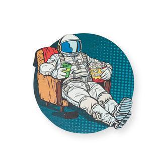 Myros Model-607 Space Ahşap Bardak Altlığı Magnet