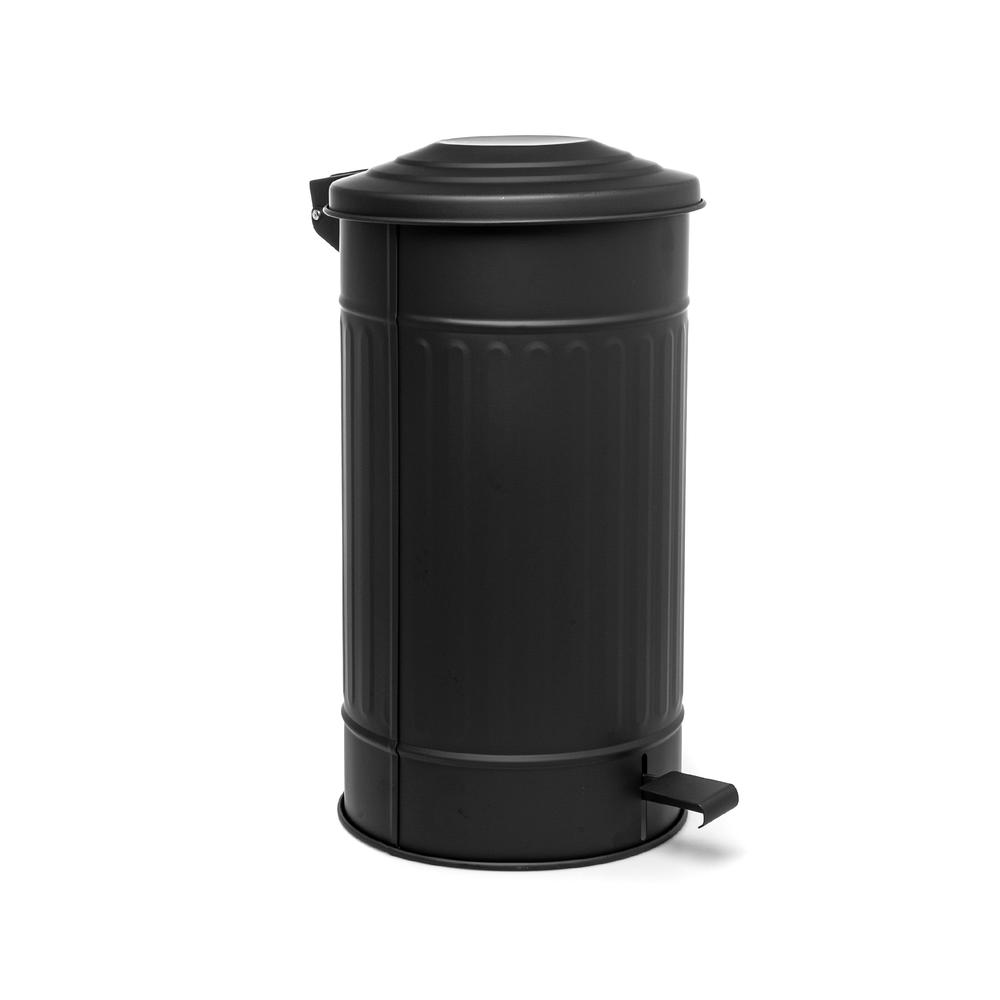 The Mia Mutfak Çöp Kovası - Siyah - 24 Litre