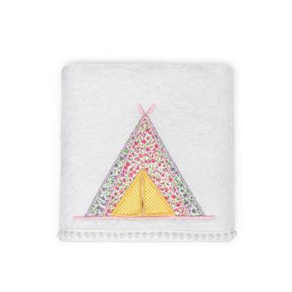 Nuvomon Tent Çocuk Havlusu - Beyaz - 50x70 cm