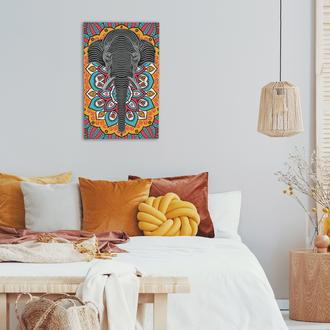 Artepera APT061 Ganesha Metal Tablo ( Colorart ) - 45x70 cm