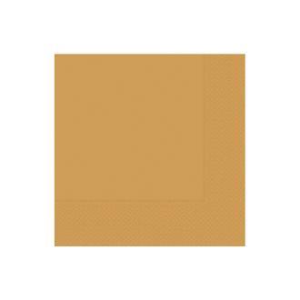 Roll-Up Party Dreams Gold 20'li Peçete - 33x33 cm