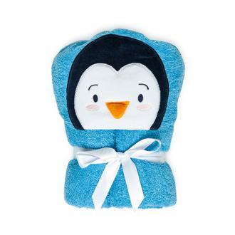 Nuvomon Penguin Çocuk Bornoz - 2/6 Yaş
