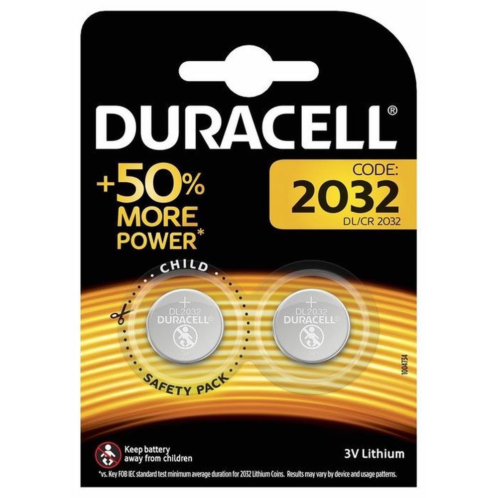 Duracell 2'li Düğme Pil - 3 Volt