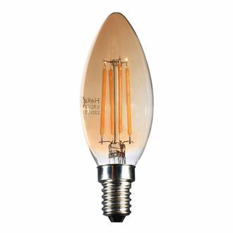 Heka C35 Bal 6W E14 Düz Uç 2500K Gün Işığı Led Ampul