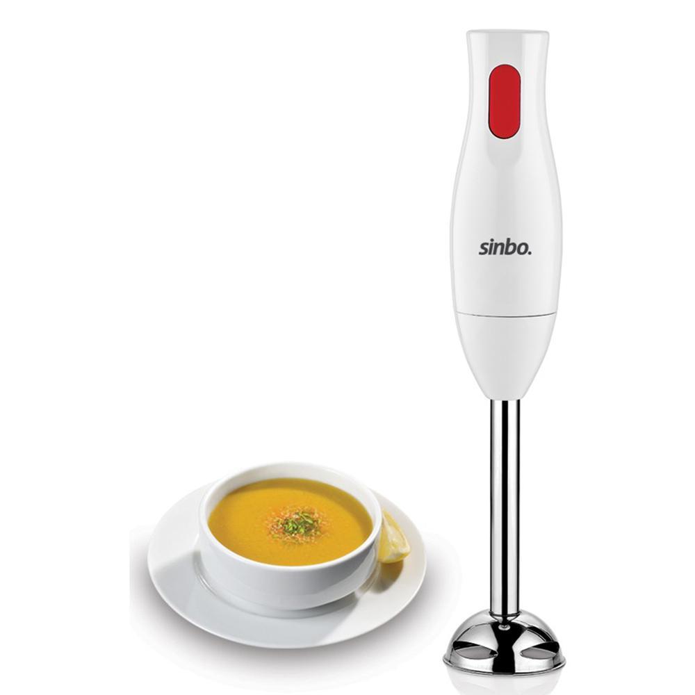 Sinbo SHB-3147 Blender Seti - Beyaz / 400 Watt