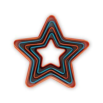 Fackelmann 5'li Yıldız Kurabiye Kesici