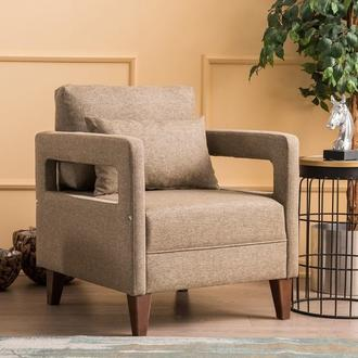 Evdebiz Comfort Berjer - Kahverengi