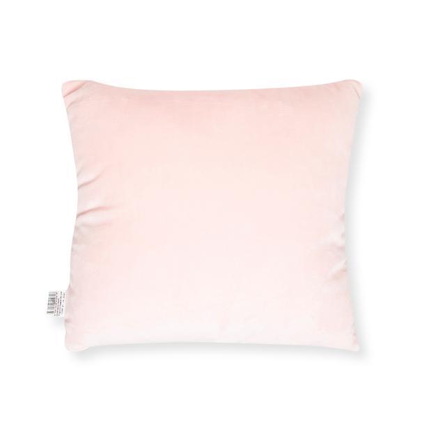 Selay Toys Cute Figürlü Yastık (Pembe / Beyaz) - 35 cm