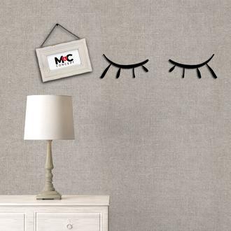 M&C Concept Kirpik Metal Duvar Panosu - Siyah