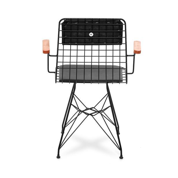 Akın LüxKollu Sandalye - Siyah/Siyah