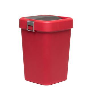 Motek Comfort Dust Bin Çöp Kovası (Kırmızı) - 18 lt