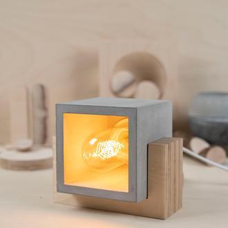 Womo Marshmallow Masa Lambası - Gri