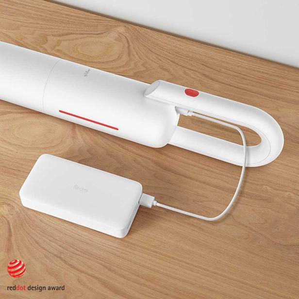 Deerma VC01 Şarjlı Dikey Süpürge - Beyaz / 125 Watt