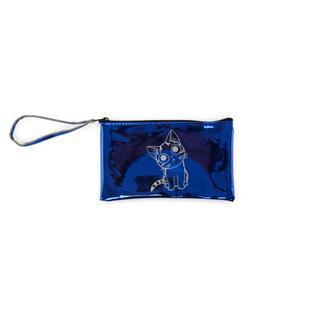 MMC Ayna Küçük Portföy Kozmetik Çantası - Mavi