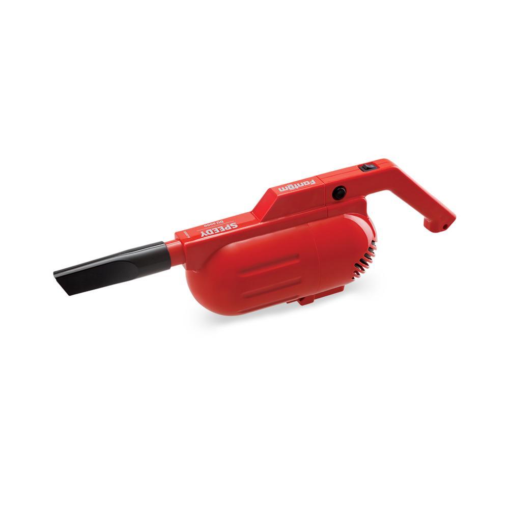 Fantom DU2000 Speedy Dikey Elektrikli Süpürge - Kırmızı / 500 Watt