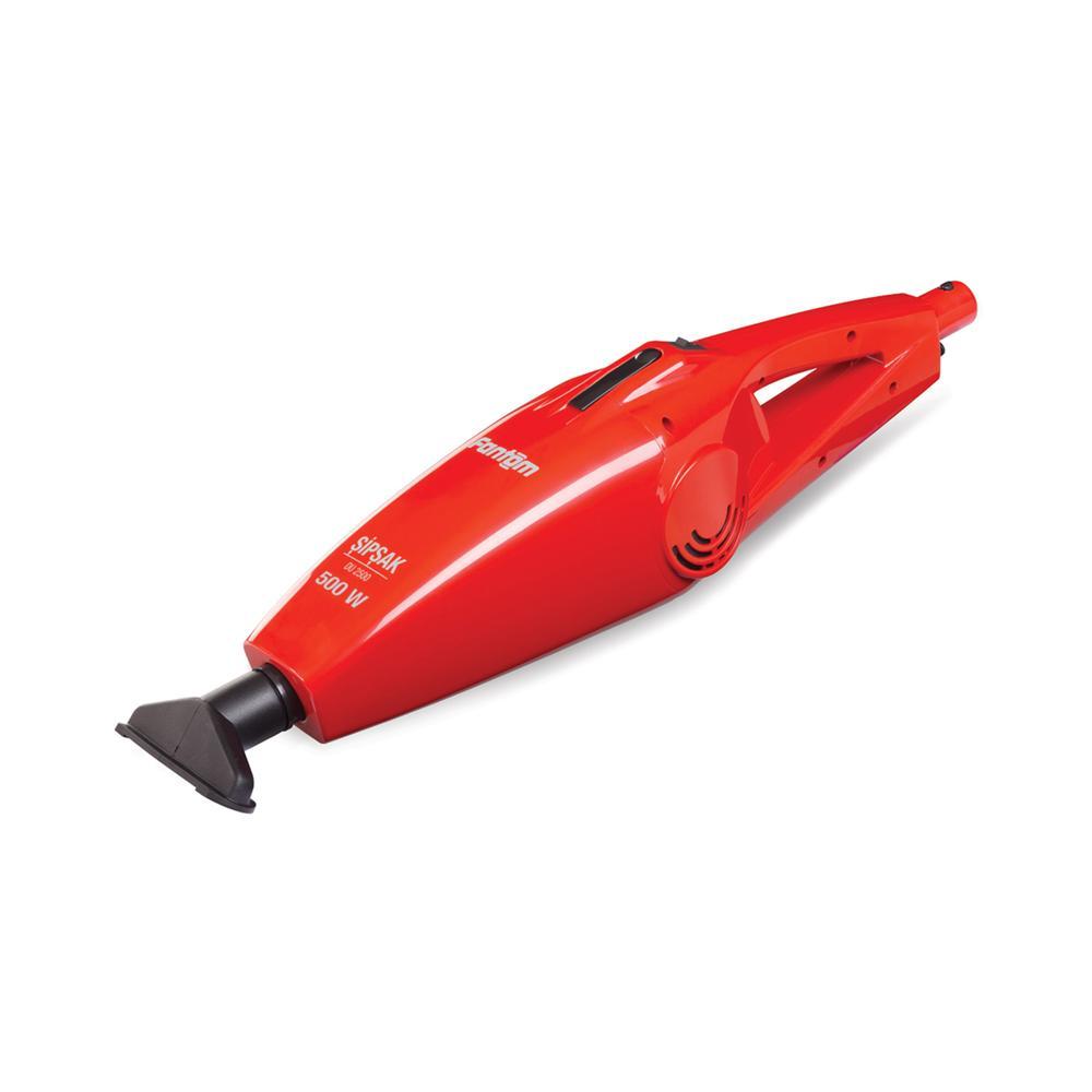 Fantom DU2500 Şipşak Dikey Elektrikli Süpürge - Kırmızı / 500 Watt