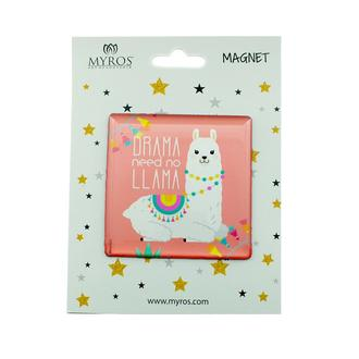 Myros 304 Hayvan Figürlü Kare Magnet - Asorti