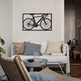 Artepera APT217 Bisiklet Metal Tablo ( Siyah ) - 41x70 cm