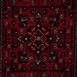 Bonart Hera 5333 Kaydırmaz Taban Afgan Halısı 80x300 cm