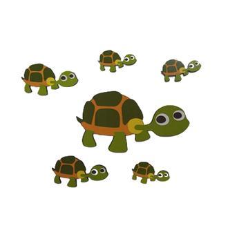 Leva House Kaplumbağa Çocuk Duvar Süsü
