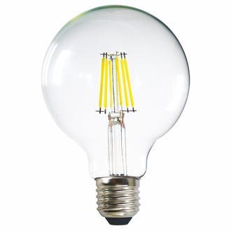 Heka G95 6W Şeffaf E27 6500K Beyaz Işık Ampul
