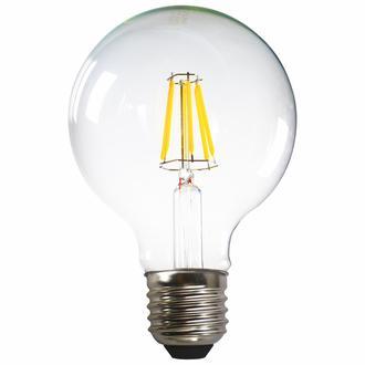 Heka G95 6W Şeffaf E27 2700K Gün Işığı Ampul