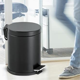 Dibanyo Pedallı Çöp Kovası (Siyah) - 5 lt