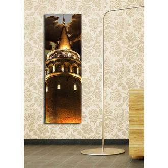 Özgül - Aydınlatmalı Kanvas Tablo - 30x90 cm
