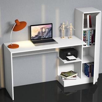 Just Home Matilda Çalışma Masası - Beyaz